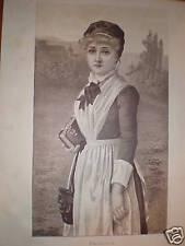 Priscilla Florence Gravier print 1885