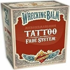 Remove Tattoos Cream Wrecking Balm Help Tattoo Fade System Microdermabrasion