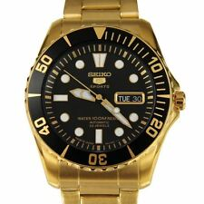 Gold Plated Band Mechanical (Automatic) Casual Wristwatches