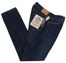 POLO RALPH LAUREN 34 x 34 SULLIVAN SLIM FIT HOLTON STRETCH MEN BLUE JEANS PANTS