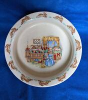 Royal Doulton Bunnykins Porridge Bowl England Bedtime Story