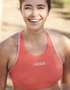 HOKA Sports Bra Performance Coral Women's NWT