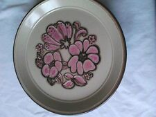 Earthenware 1960-1979 Staffordshire Pottery Dinner Plates