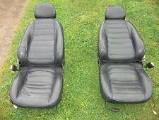 MGF / MG TF Black Leather Seats