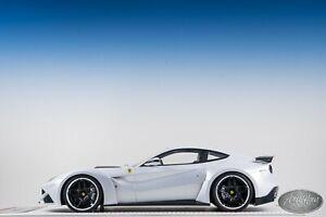 1/18 Davis & Giovanni Novitec Rosso Ferrari F12 N-Largo S Pearl White #01/01
