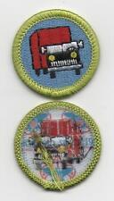"Truck Transportation Merit Badge, Type L ""Since 1910"" Back (2013-Current), Mint!"