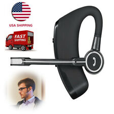 Hd Bluetooth Headset Wireless Headphone Cell Phone Earpiece for iPhone Android