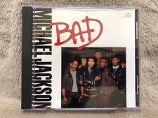 Bad (Michael Jackson), CD promo US 1987 (Ref ESK 2808)