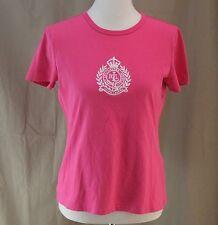 LRL, Lauren Active, Ralph Lauren, Medium, Bright Pink Tee