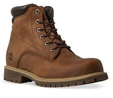 Timberland Alburn 6 In Waterproof Leather Md Brown Mens Boots, UK 7.5  EU 41.5