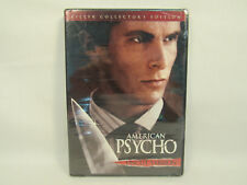 American Psycho Uncut Killer Ed. Dvd New Factory Sealed