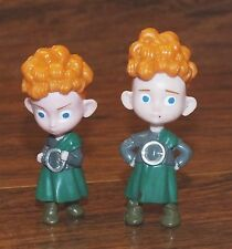 Walt Disney Harris & Hubert From the Movie Brave 2 Inches Tall Figurine Toy READ