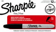 Fine-Tip Sharpie (Black) Box of 12