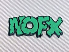 Embroidered Patch Iron Sew Logo music rock thrashmetal punk heavy song NOFX band