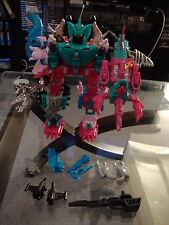 Transformers G1 Reissue PIRANACON Combiner Seacons Targetmasters Near Complete