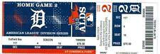 2013 Tigers vs Oakland A's ALDS Playoffs Ticket Game 4: Max Scherzer Win