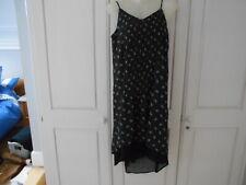 BNWT Gap Black/White Strappy Dress W/Front Top Seam Detailing - S/UK8-10