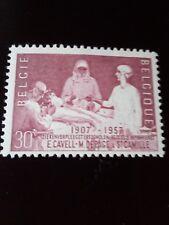 POSTZEGELS  STAMPS - TIMBRE  BELGIQUE - BELGIE JAAR 1957 NR.1038 *(ref.1366)
