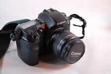 Canon EOS D30 3.2MP Digital SLR Camera - Black  with 22-55 lens, software, cable