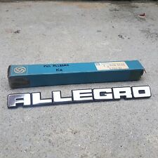 AUSTIN ALLEGRO Emblem Badge Rear Genuine Parts NOS Made in UK
