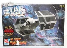 Vintage Star Wars Tie Fighter 8275 Flight Display by Amt/Ertl 1996 - New In Box!