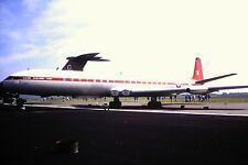 3/782 De Havilland Comet 4C XS235 Canopus Royal Air Force  Kodachrome SLIDE