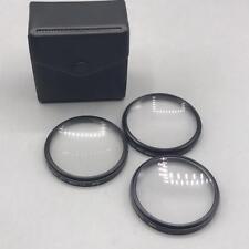 Vintage DeJur Close Up Filter Set No 1 No 2 No 4 52mm