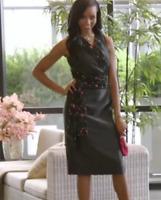 Ashro Kallista Formal Little Black Dinner Church Party Dress Size 6 14 24W PLUS