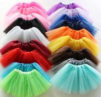 15 Farben 3 Schichten Damen Mädchen Tutu Rock Fancy Dress Up Hen Party