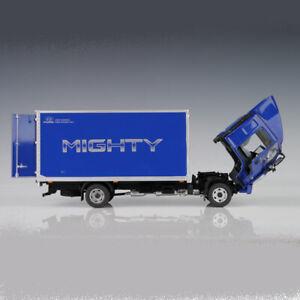 HYUNDAI MIGHTY 1:32 CARGO BOX VAN DELIVERY TRUCK DIE-CAST MODEL CAR_Blue