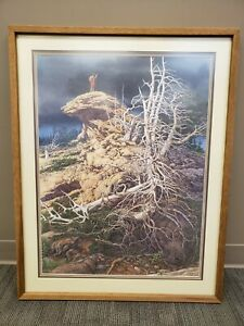 """Bev Doolittle """"Prayer for the Wild Things"""" Limited Edition Signed Print 27x21"""""""