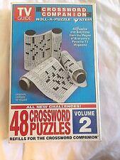TV Guide Crossword Companion Vol. 2 (1995, Paperback)