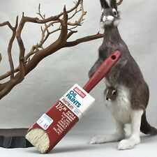 "MagiKoter Vintage Premium  1.5"" China Bristle Oil Paint Brush Alkyd & Oil Base"