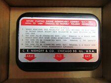 1956-1964 Ford  Voltage Regulator Niehoff FF-165 (FF-150 applications)