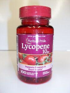 Lycopene  10 mg  100 Softgels  Supports Heart Health