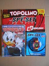 TOPOLINO n°2815 Blisterato con Gadget SPY-SET da Polso [MZ3A]