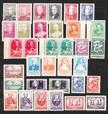 Canada Poster Stamps (34) MNH OG