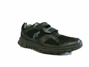 AUSTRALIAN Sneakers Ginnastica Unisex Doppio Velcro AU613V Nero Black
