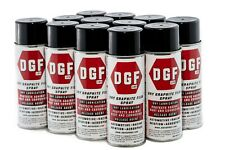 DGF Dry Graphite Film Spray Lubricant - Miracle Power Products 1 CASE (12 cans)