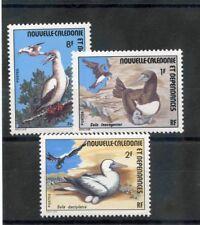 NEW CALEDONIA Sc 413-5(YT 397-9)**VF NH 1976 BIRD SET $16