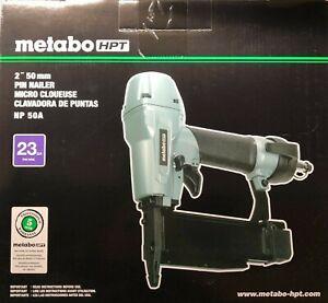 Metabo/Hitachi NP50A 23 gage Headless 2 inch Pin Nailer New nail gun