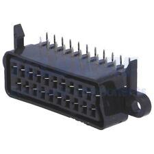 1 pcs F8622 Connettore SCART presa femmina THT angolare per pannello TELSTORE