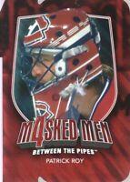 2011-12 Between The Pipes Masked Men IV Ruby Die Cuts #MM-40 Patrick Roy