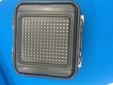 """Genesis Sterilization Container Half-Length 5"""" with Tray"""