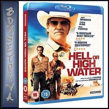Hell or High Water Blu-ray 2016 DVD Region 2