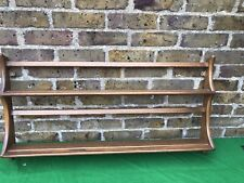 Vintage Ercol Plate Rack/Shelf Solid Elm In Excellent Condition