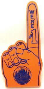 New York Mets Foam #1 Fan Finger/Hand