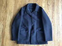 CP Company Wool Coat sz 52 IT XL US Black
