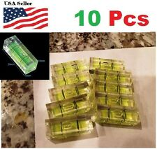 10 Pcs10x10x29mm Universal VIAL Square Bubble Spirit Level Tripod Camera 10mm