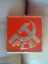 COMUNIST BADGE PCE SPAIN 70´S RETRO VINTAGE